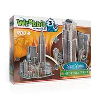 New York City - Midtown West - 3D Puzzle