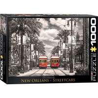 New Orleans Streetcars - 1000pc