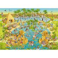Funky Zoo - Nile Habitat - 1000pc
