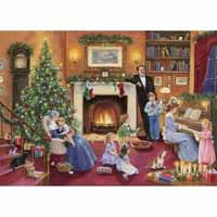 Christmas Collectables - Family Christmas - 1000pc
