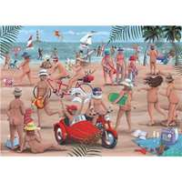 The Nudist Beach - 1000pc