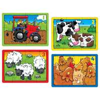 Farm Puzzle - 4 In A Box