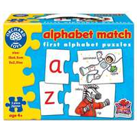 Alphabet Match - 26 two-piece puzzles