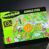 jungle eyes - glow in dark