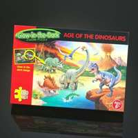 age of the dinosaurs - glow in dark