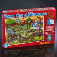 Spot the Difference - Dinosaur Park - 100pc