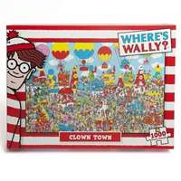 wheres wally clown town