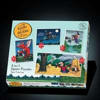 Room on the Broom - 4 puzzles in 1