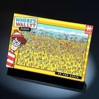 Wheres Wally - On the Beach - 100pc