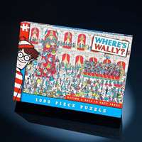 Wheres Wally - Having a Ball in Gaye Paree - 1000pc
