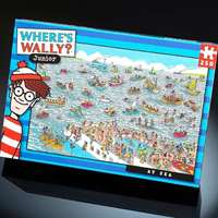 Wheres Wally - At Sea - 100pc
