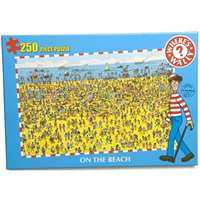 wheres wally - on the beach