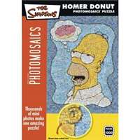simpson homer donut photomosaic