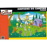 simpsons go camping 250 piece