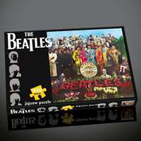 the beatles sergeant pepper black