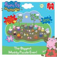 Peppa Pig - The Biggest Muddy Puzzle Ever!