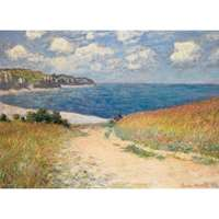 Path Through the Wheat Fields - Monet