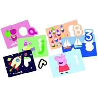 Peppa Pig - ABC and 123 Puzzle