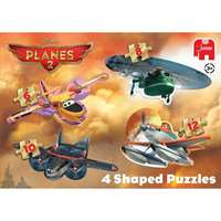 Planes - 4 in 1 Shaped Puzzles