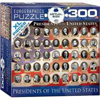 Presidents of the United States Extra Large Piece