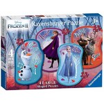 Disney Frozen II - 4 Shaped Puzzles - 10, 12, 14 and 16pc