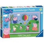Peppa Pig - Giant Floor Puzzle - 24pc