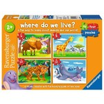 Where Do We Live - 4 in 1