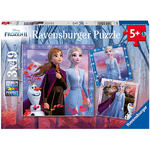 Disney Frozen II - The Journey Starts - 3x49pc