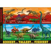 Extreme Dinosaurs - Giant Floor Puzzle - 60pc
