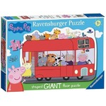 Peppa Pig - Giant Shaped Puzzle - 24pc