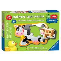 Mothers and Babies - 6 x 2-piece puzzles