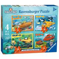 Octonauts Vehicles - 4 in 1