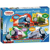 Thomas and Friends - 4 Shaped Puzzles