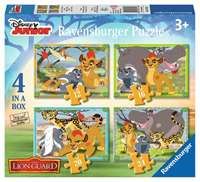 Disney - The Lion Guard - 4 in 1