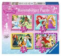 Disney Princesses - 4 in 1