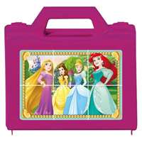 Disney Princess - Cube Puzzle - 6pc