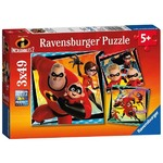 The Incredibles 2 - 3 x 49pc