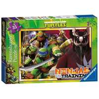 teenage mutant turtles - 35 piece