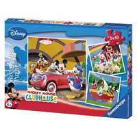 mickey mouse clubhouse - 3 x 49 piece