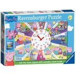 Peppa Pig - Clock Puzzle - 60pc