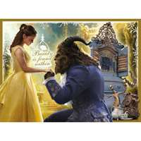Beauty and the Beast - Glitter Puzzle - 100XXLpc