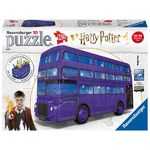 Harry Potter Knight Bus - 3D Puzzle 216pc