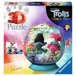 Trolls - World Tour - 3D Puzzle Ball - 72pc