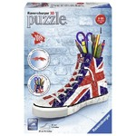British Flag Sneaker - 3D Puzzle - 108pc