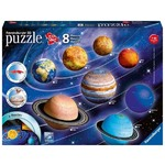 Solar System - Eight 3D Puzzles