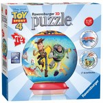 Toy Story 4 -  3D Puzzle Ball - 72pc