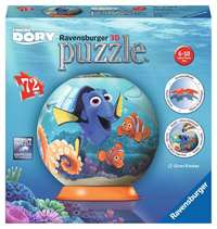 Finding Dory - 3D Puzzle Ball - 72pc