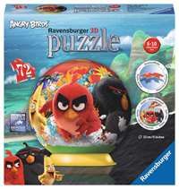 Angry Birds - 3D Puzzle Ball - 72pc