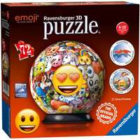 Emoji 3D Puzzle Ball - 72pc