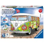 VW Camper Van - Woodstock 50th Anniversary - 3D Puzzle - 162pc